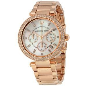 Michael Kors Women's Parker Rose Gold Watch
